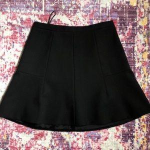 J crew mini black skirt